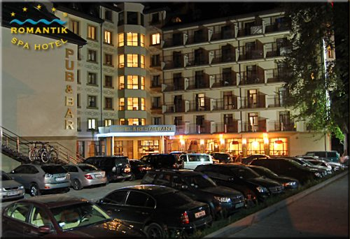Романтик спа отель в яремче